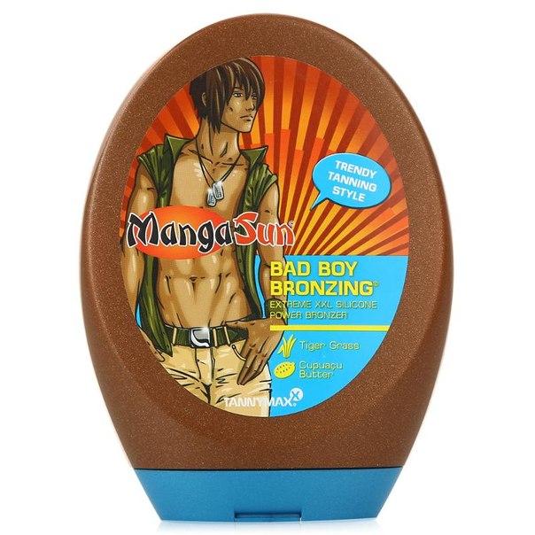 Лосьон для загара в солярии tannymax manga sun bad boy bronzing, 250 мл