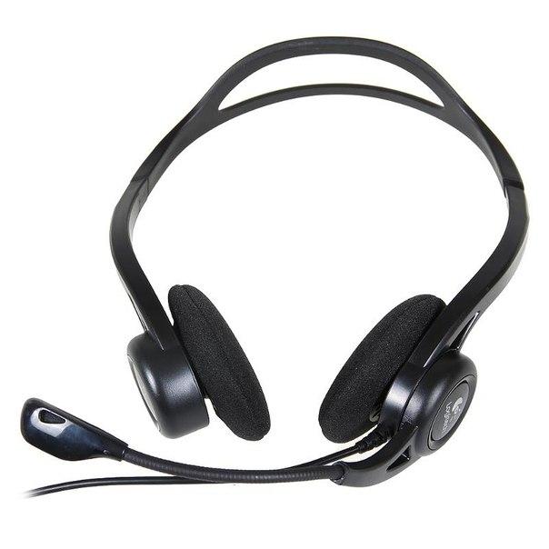 Наушники с микрофоном logitech headset 860