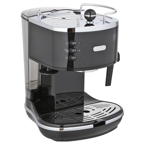 Кофеварка эспрессо delonghi eco 310.black