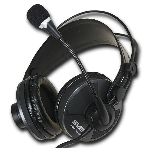 Наушники с микрофоном sven hm 60 gt