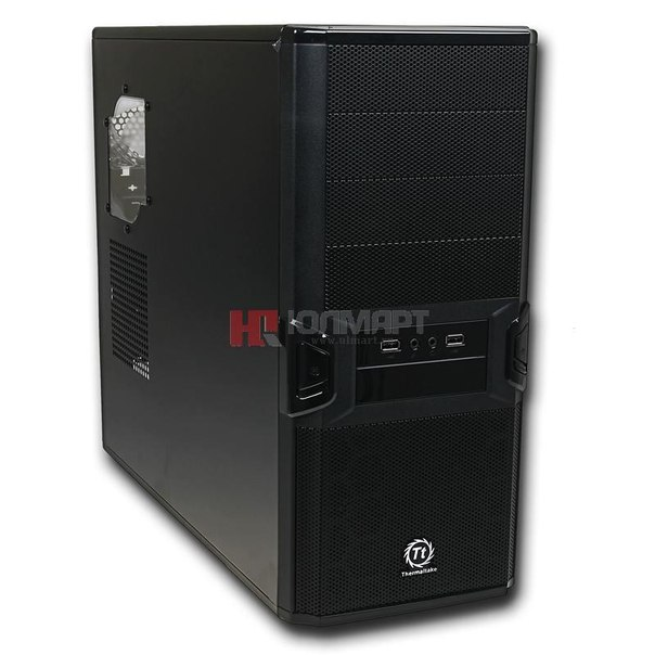 Корпус thermaltake v3 black edition, vl80001w2z