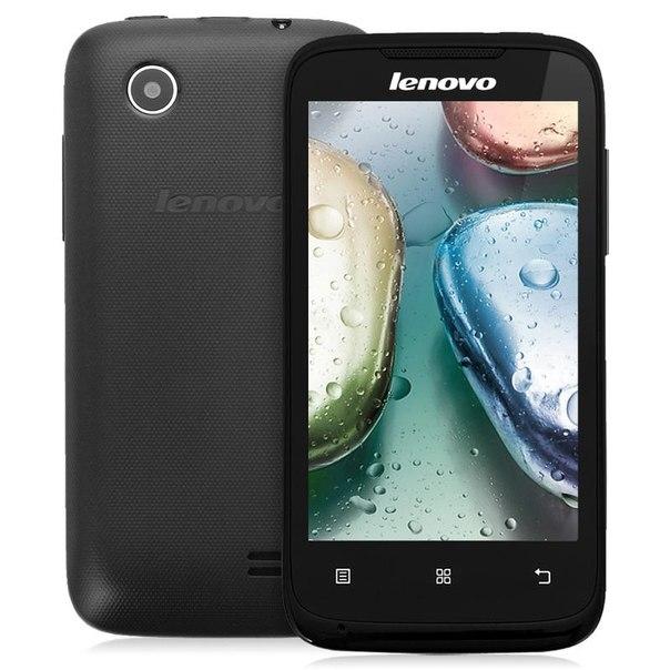 Смартфон lenovo a369i black