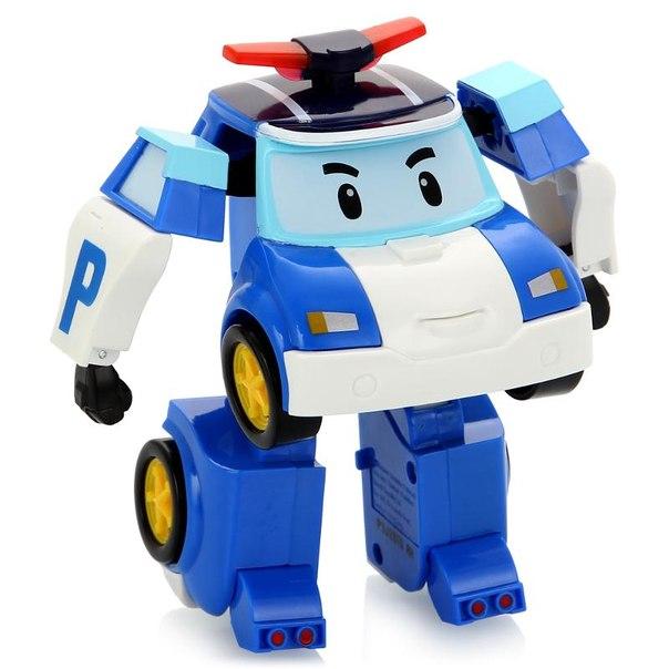 Машинка трансформер robocar poli поли