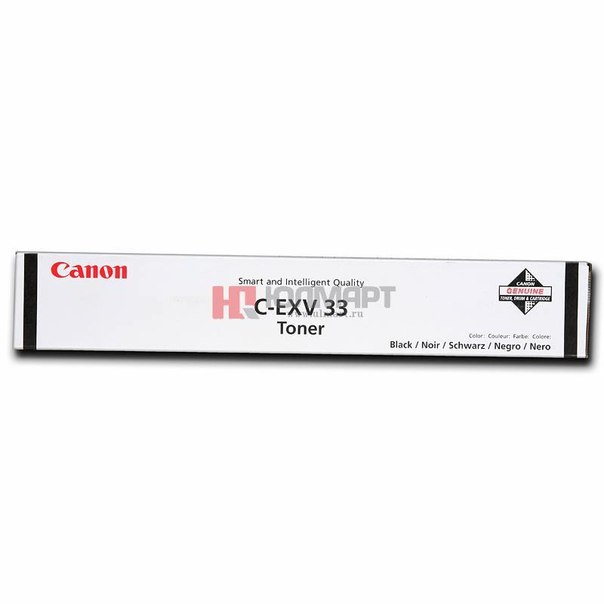 Тонер canon c-exv33 bk