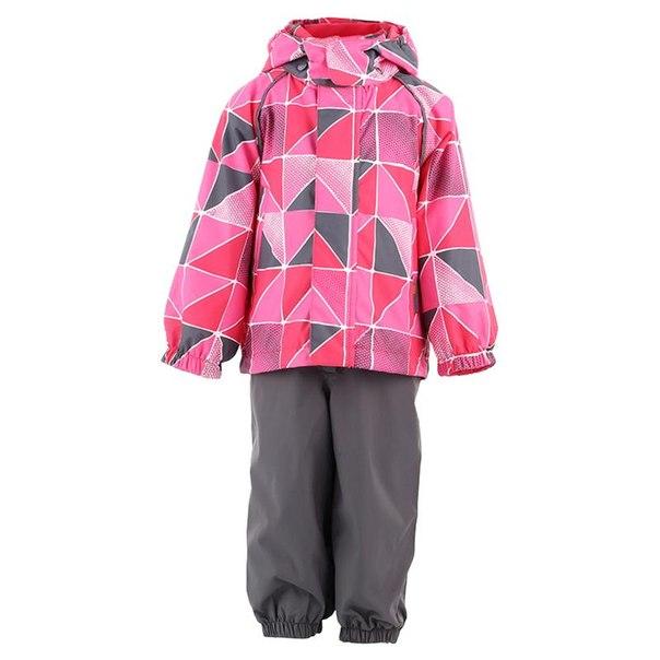 Комплект куртка + брюки lassie by reima 713650, размер 92 см, цвет 4442