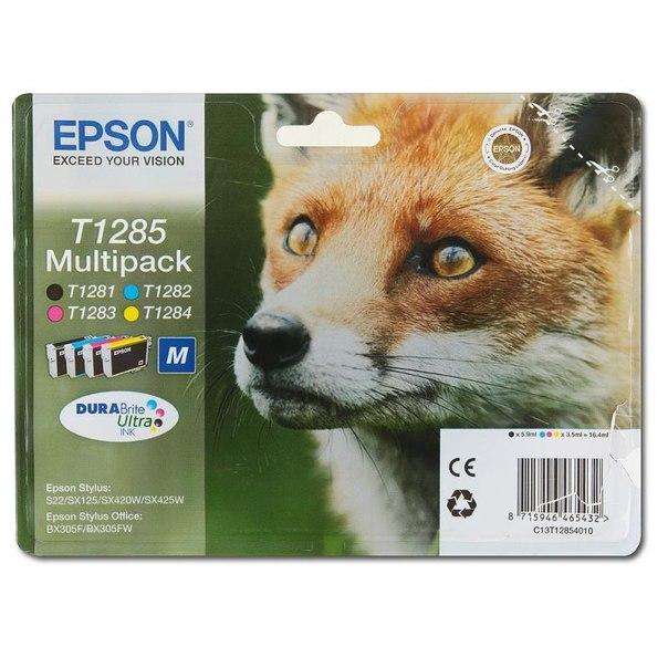 Набор epson t128540 из 4 картиджей