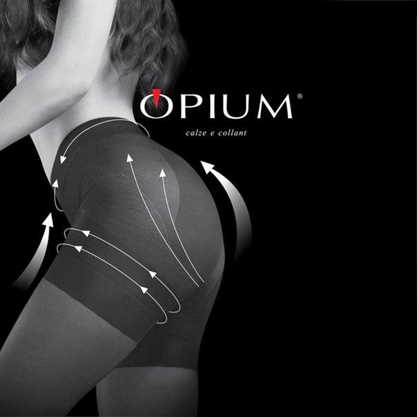 Колготки opium siluet body, 40 den, nero, 3