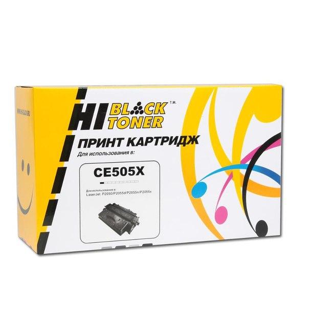 Картридж hi-black ce505x