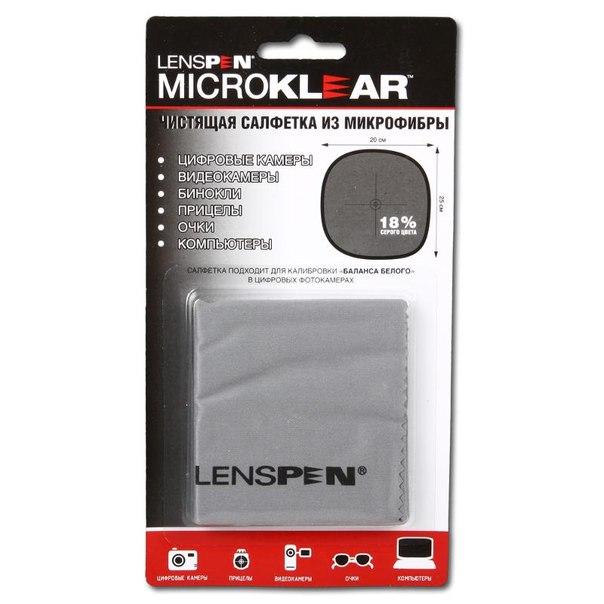 Салфетка для оптики из микрофибры lenspen microclear mk-1