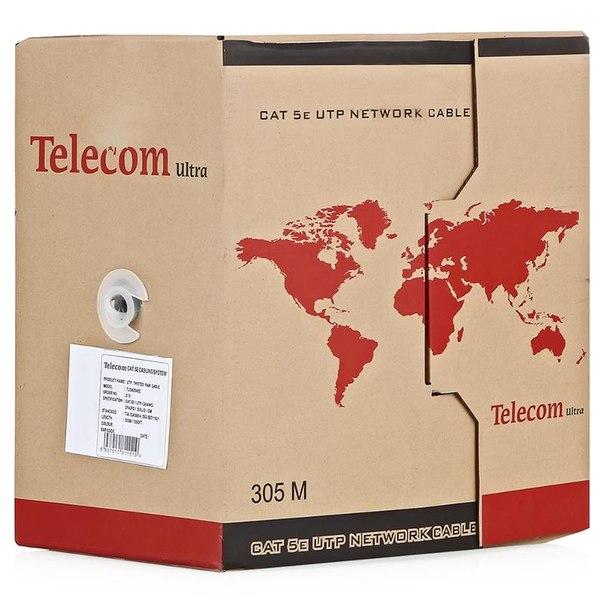Кабель витая пара telecom ultra base utp cat 5e