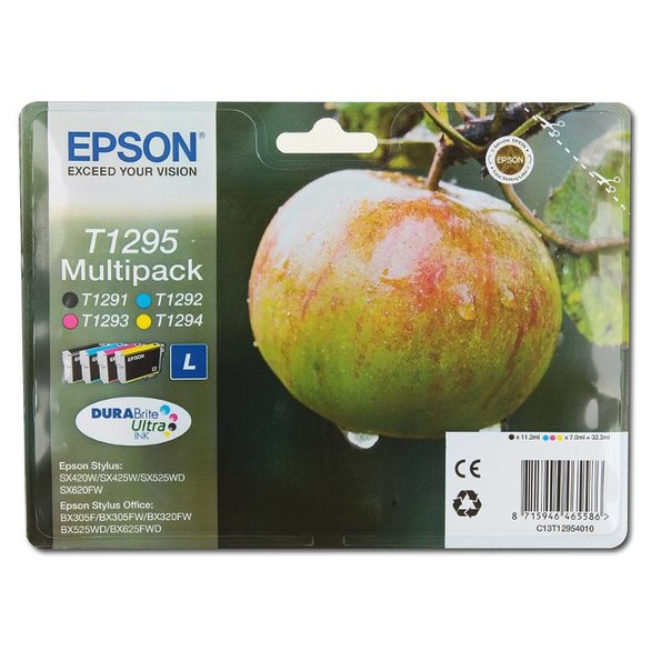 Набор epson t129540 из 4 картиджей