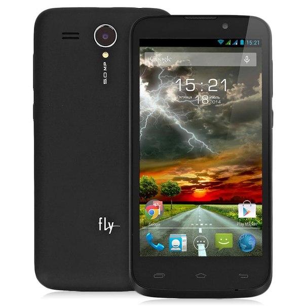 Смартфон fly iq4502 era energy 1 quad black