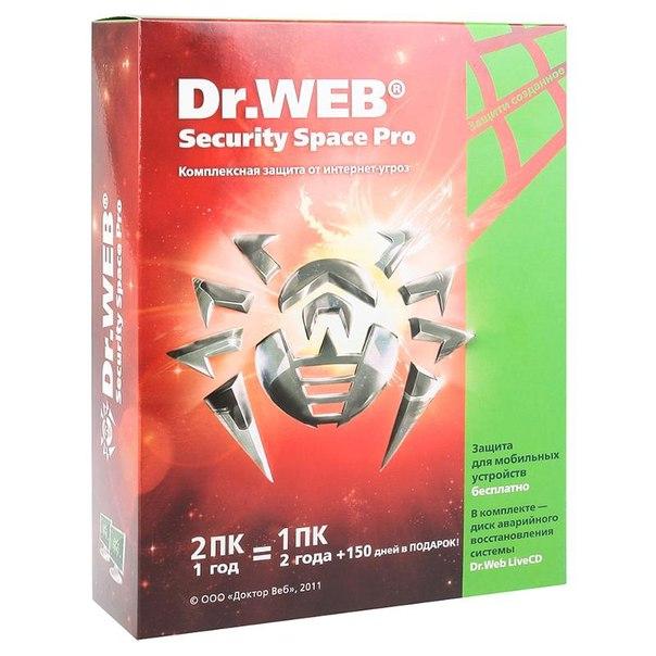 Антивирус doctorweb security space