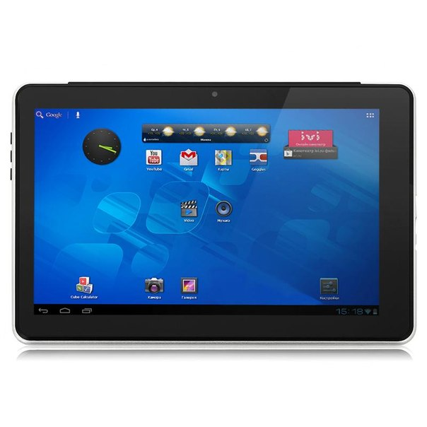 "Планшет bliss pad r1001 16gb + 3g, 10.1"" ips 1280x800, dual core, серебристый"