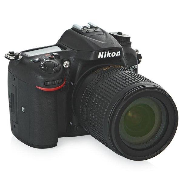 Зеркальный фотоаппарат nikon d7200 kit af-s dx 18-105mm vr black