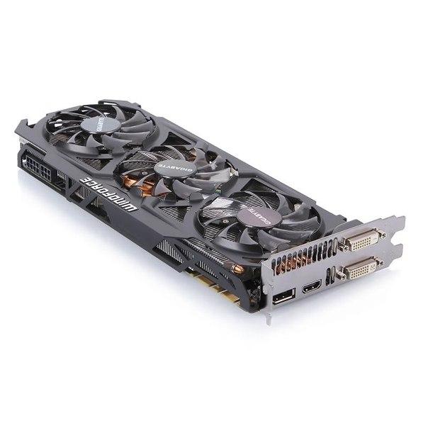 Видеокарта gigabyte gv-n780oc-3gd, gtx780, 3072мб, gddr5, retail