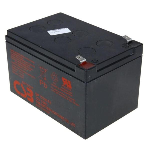 Батарея аккумуляторная csb gp 12120 f2