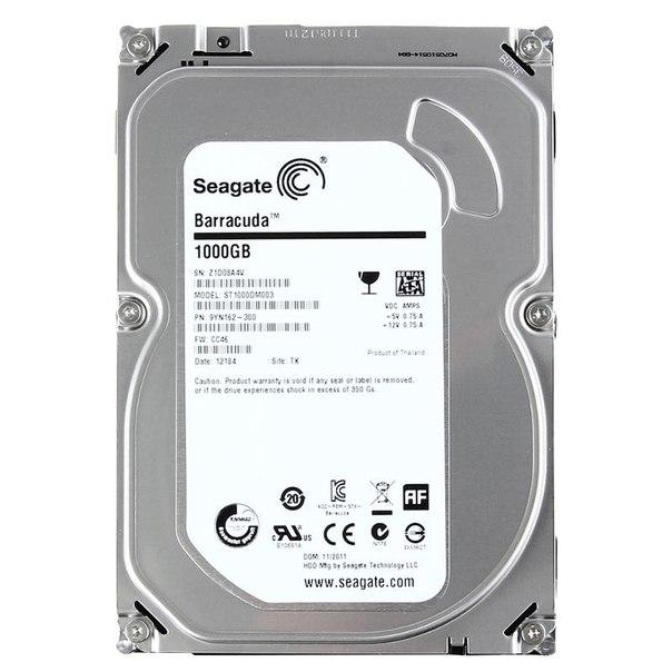 Жесткий диск hdd 1тб, seagate barracuda 7200.14, st1000dm003