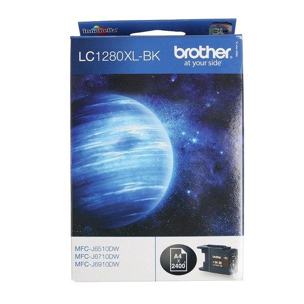 Картридж brother lc-1280xlbk, черный