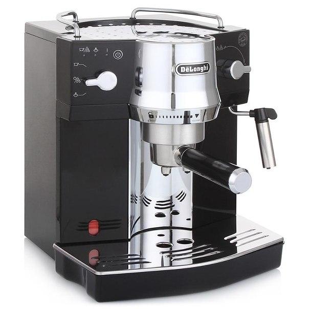 Кофеварка эспрессо delonghi ec 820.b