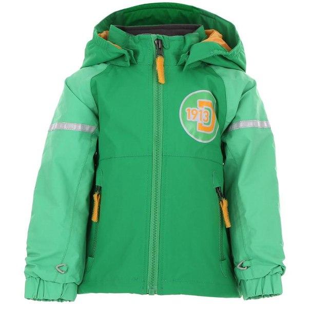 Куртка didriksons1913 ejer kids jkt 500678, размер 100 см, 260 сочно-зеленый
