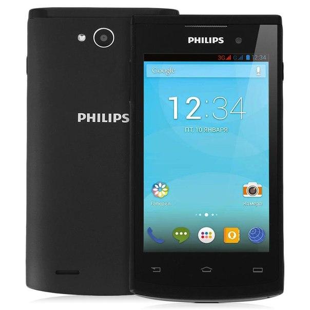 Смартфон philips s308 black
