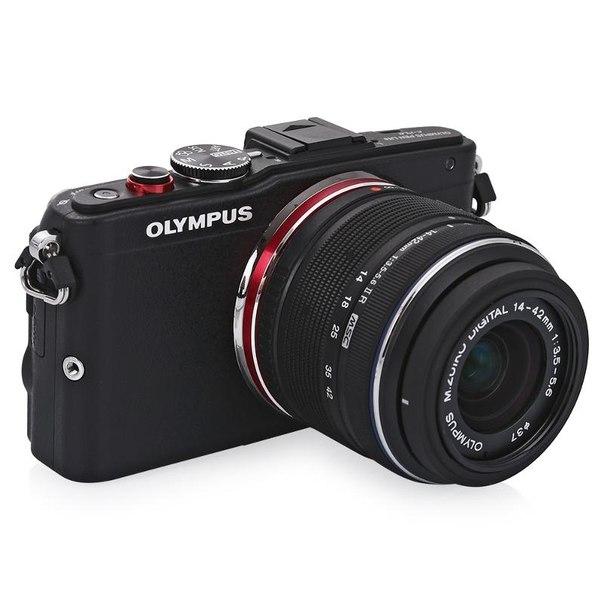 Цифровой фотоаппарат olympus pen e-pl6 kit 14-42mm ii r black