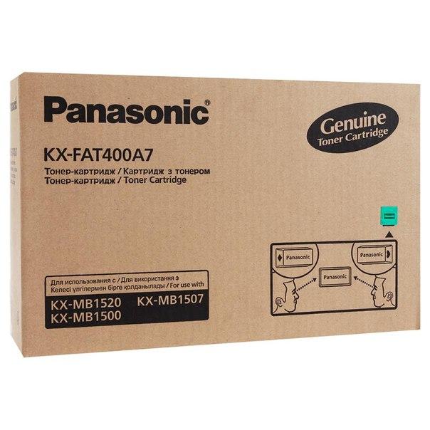 Тонер-картридж panasonic kx-fat400a7