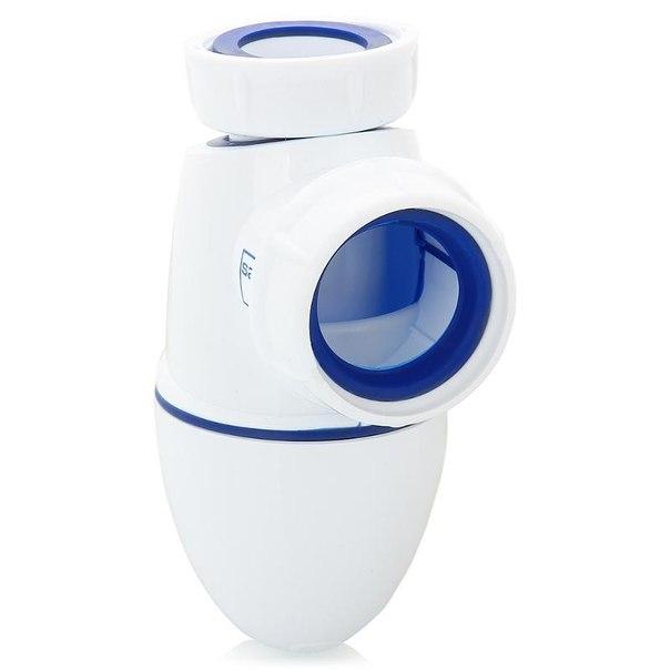 Сифон nicoll-sas bm24z, клапан 1.1-4, слив на 40мм