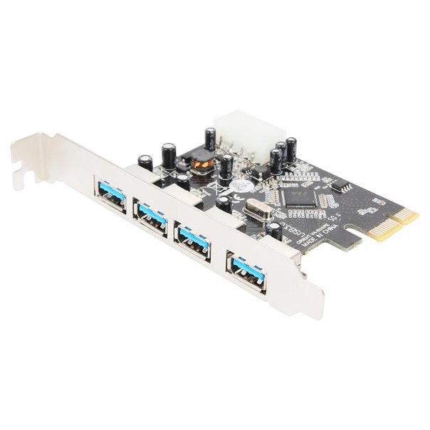 Pci-e контроллер usb 3.0, orient va-3u4pe