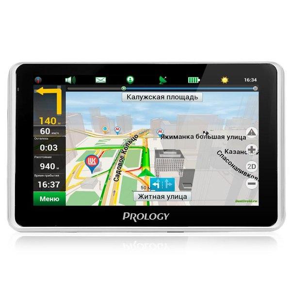 Автомобильный gps навигатор prology imap-580tr