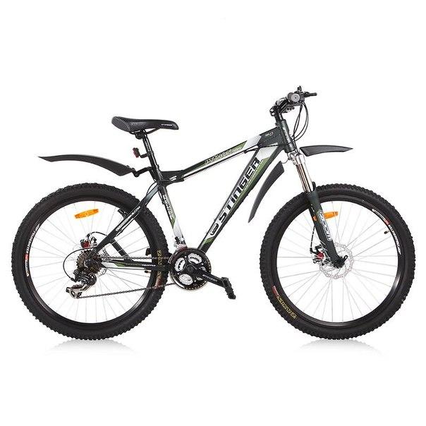 Велосипед stinger python r130, темно-зеленый матовый (х22453-к)