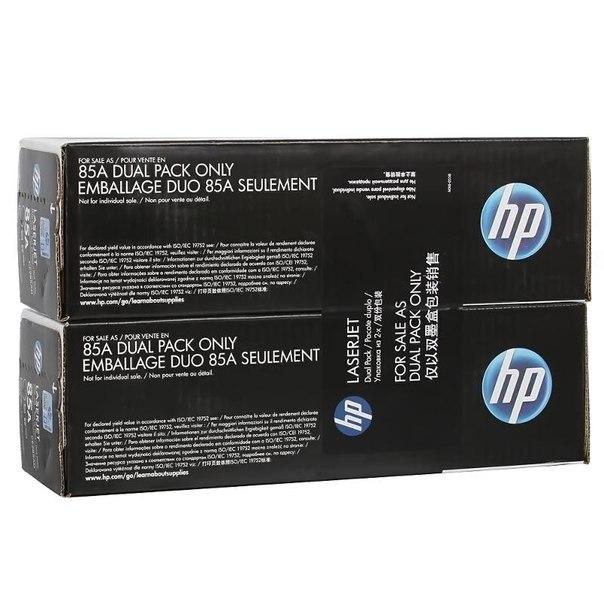 Двойная упаковка картриджей hp ce285af\ad