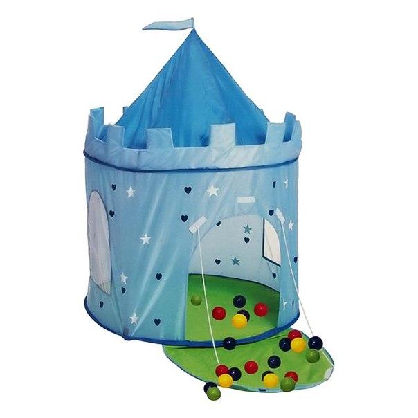 Игровой домик с мячиками королевский (100шт мячиков), AFOX