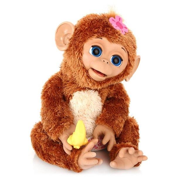 Интерактивная игрушка furreal friends смешливая обезьянка