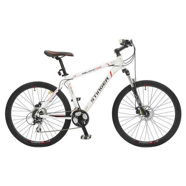 Велосипед stinger reload xr 2.5, белый (х38547-к)