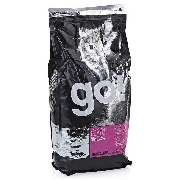 Корм сухой go! natural holistic для котят и кошек (с цельной курицей, фруктами и овощами) 3,63 кг