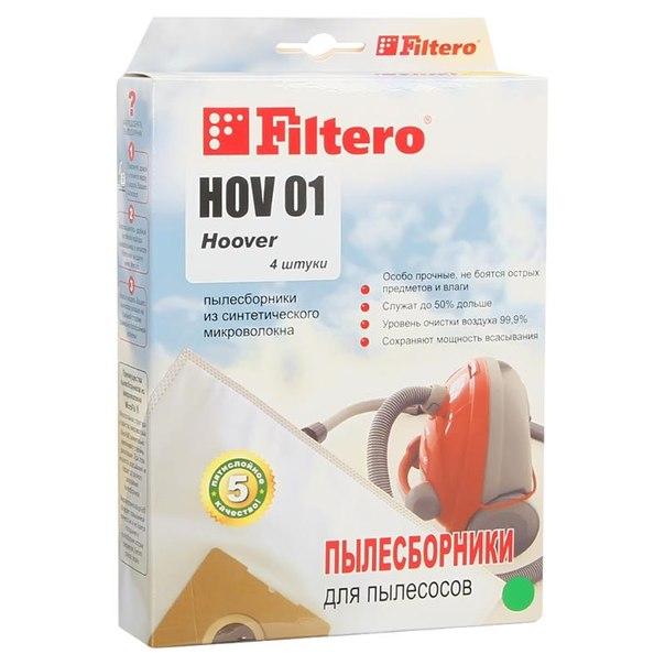 Мешок-пылесборник filtero hov 01 экстра, 4 шт