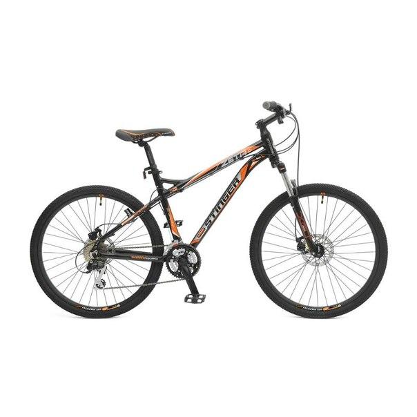 Велосипед stinger zeta d, серый/оранжевый (х43977-к)