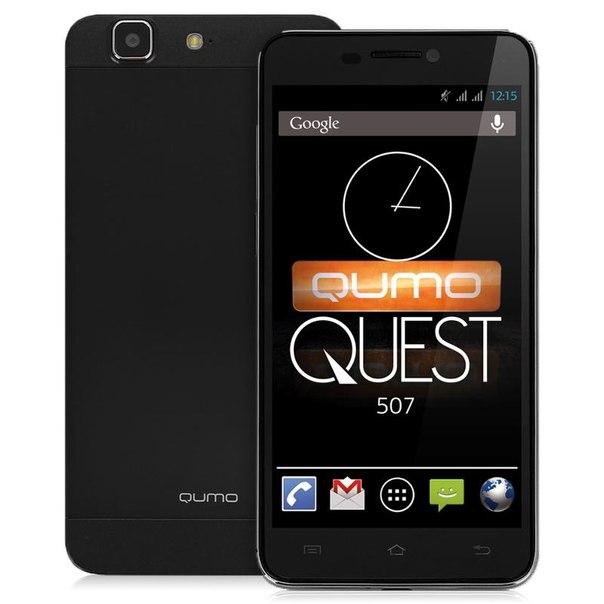 Смартфон qumo quest 507 black
