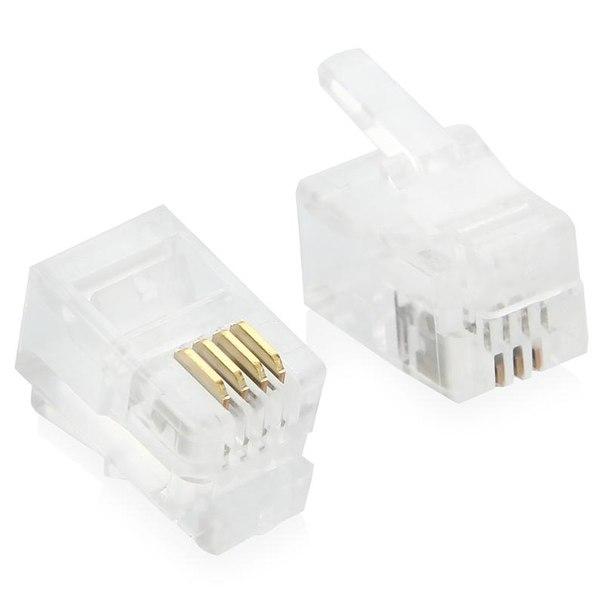 Коннекторы 4p4c
