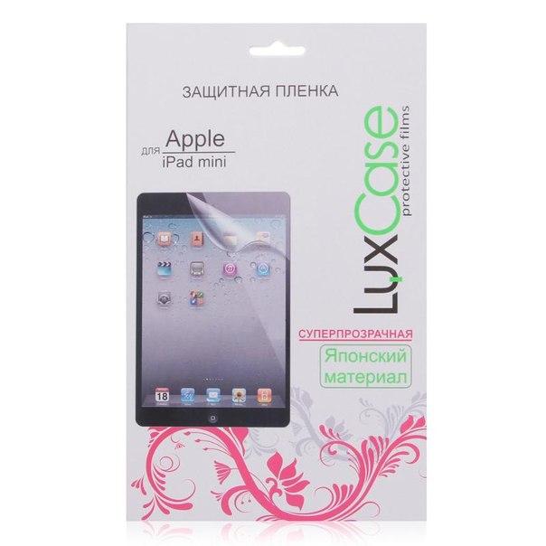 Защитная пленка luxcase для apple ipad mini retina/mini 3, суперпрозрачная