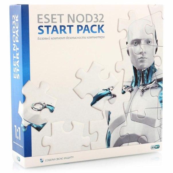 Антивирус eset nod32 start pack - на 1 год на 1 пк