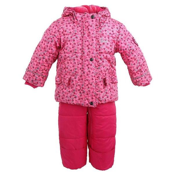 Комплект для девочек gusti gwg 4749, размер 100-104 см, цвет розовый