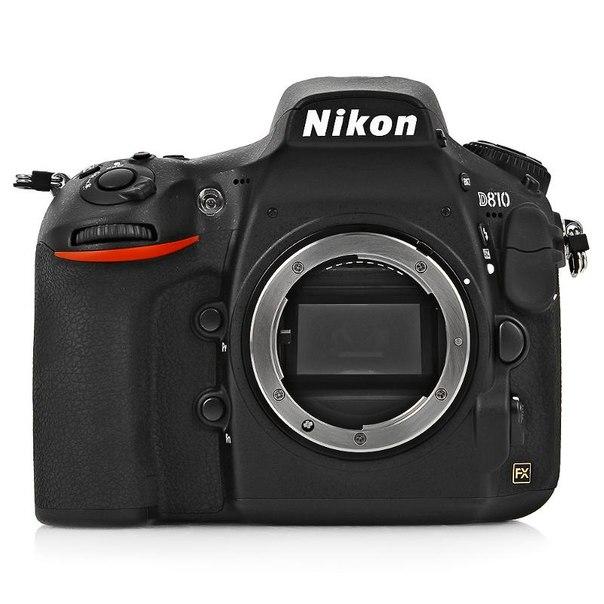 Зеркальный фотоаппарат nikon d810 body black
