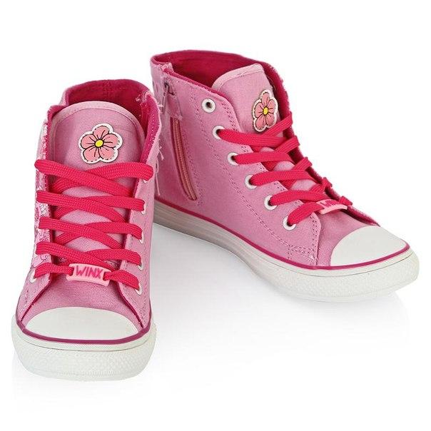 Кеды winx 5499, размер 33, цвет розовые