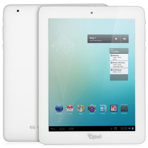 Планшет 3q q-pad mt0811b 3g 4gb white