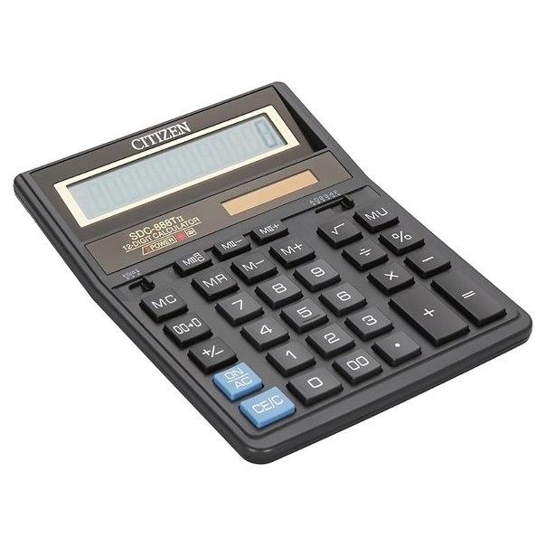 Калькулятор citizen sdc 888т ii