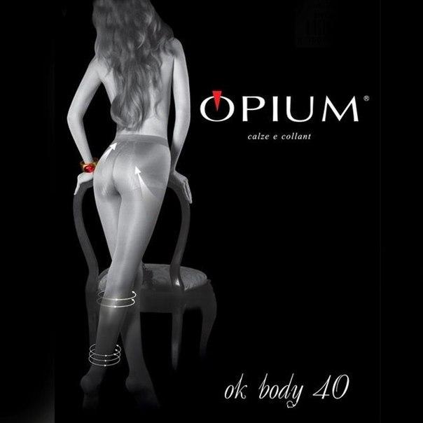 Колготки opium ok body, 40 den, nero, 2