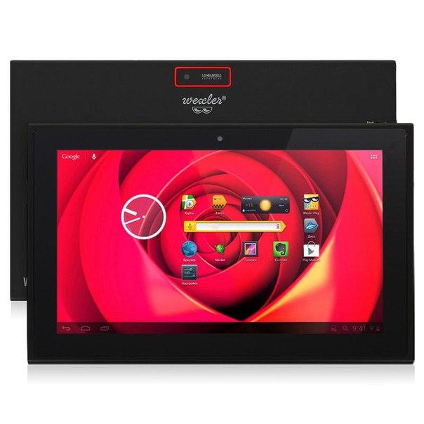 Планшет wexler.tab 10is 32gb+3g black 32gb black-red